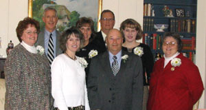 Teachers of the Year Honored - click on photo to see a closer view