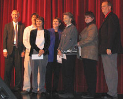 Other Teacher of the Year Award Winners... click to see a closer view. Photo by BK Web Works